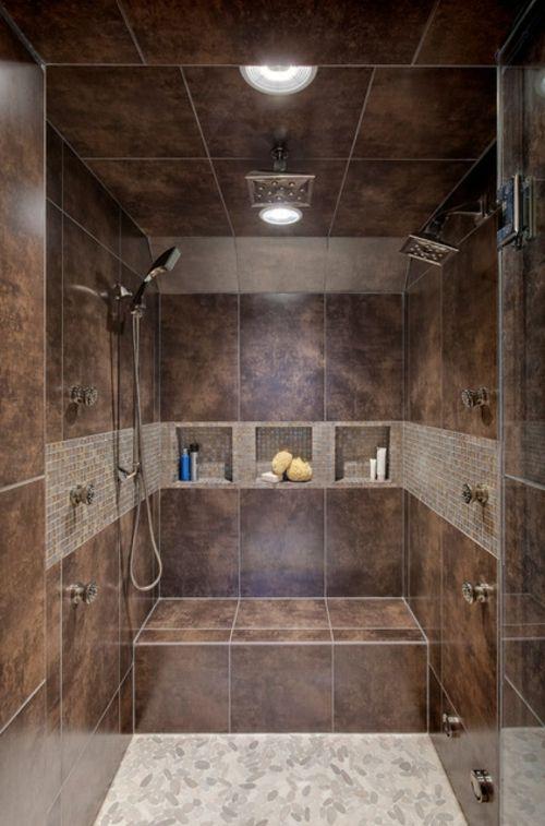 Badeinrichtung Ideen, Die Vielleicht Zu Ihnen Gut Passen Könnten! |  Bathroom Ideas | Pinterest | Badeinrichtung, Duschkabine Und Nische