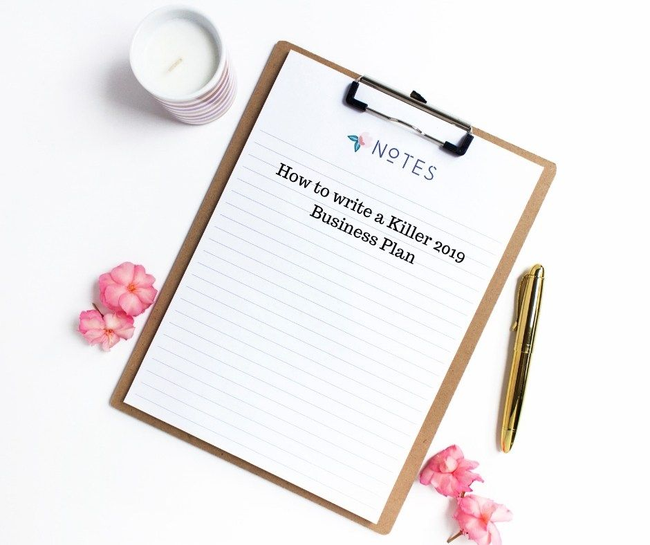 5 things to include when writing a succesful business plan