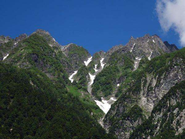 上高地 明神岳