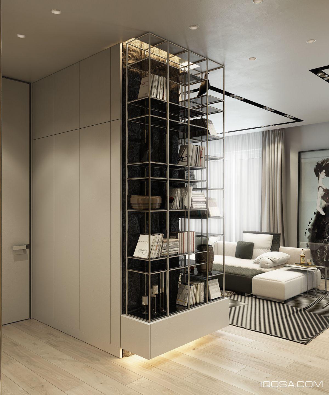 Ameublement salon maison mobilier de salon meuble audio décoration bibliotheque moucharabieh