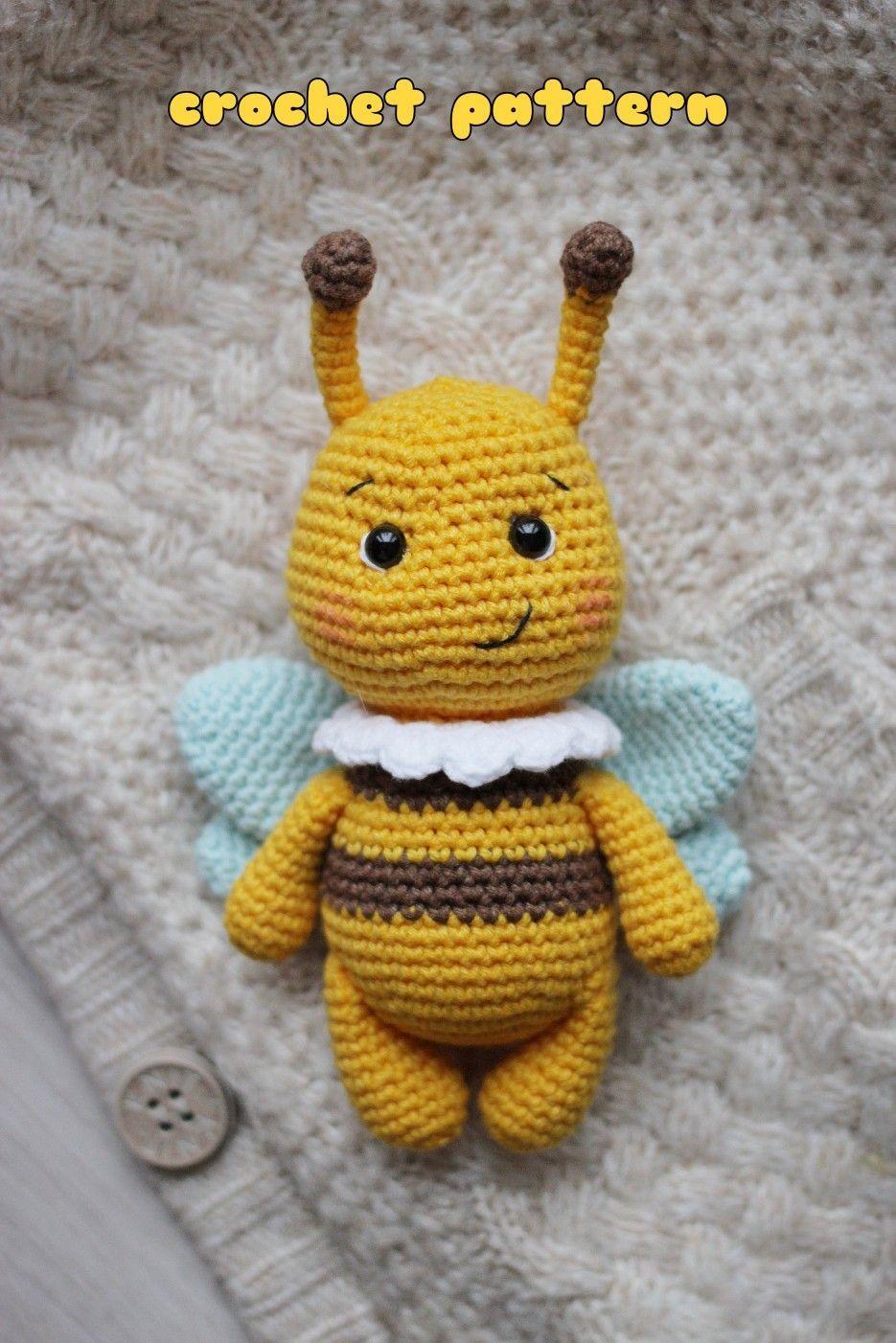Free crochet bumblebee pattern | Son's Popkes | 1402x935