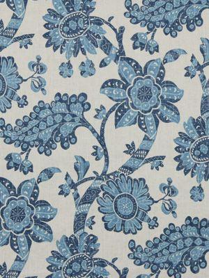 Robert Allen #fabric Unique #Floral in Twilight. #BosDesignMarket
