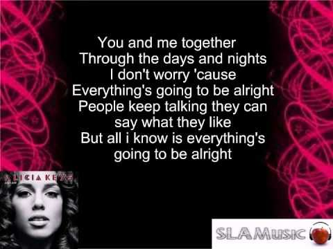 alicia keys no one karaoke download