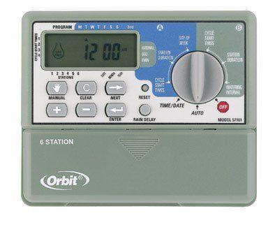 Orbit 6 Station Sprinkler Timer 1 4 Starts Day U003eu003eu003e Visit The Image Link.  Sprinkler TimerSprinklersIndoorGarden SuppliesGarden ...
