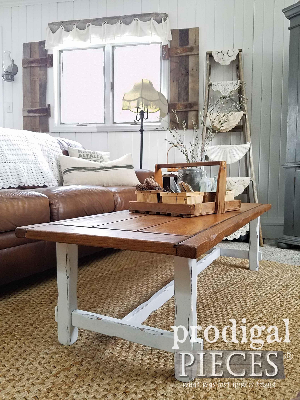 Farmhouse Coffee Table Diy Your Decor Prodigal Pieces Coffee Table Coffee Table Farmhouse Farmhouse Decor Living Room
