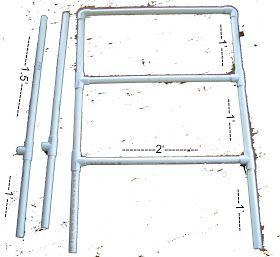 Ladder Golf Blueprint For How To Build A Ladder Golf Set Image Of Dimensions Ladder Golf Diy Ladder Ladder