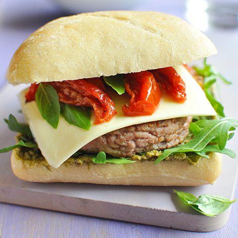 Burger Gourmand au Chèvre - President