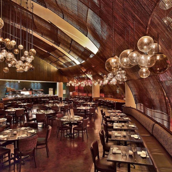 Nobu Doha Rockwell Group Restaurant Architecture Bar Design Awards Bar Design Restaurant