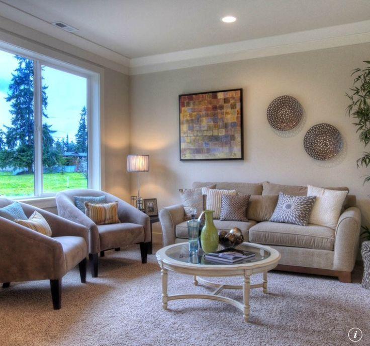 Canvas Tan Living Room