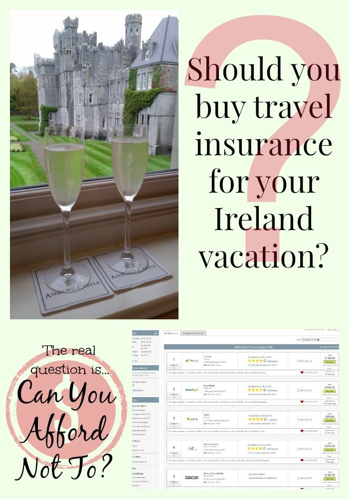 Do You Need Travel Insurance For An Ireland Vacation Ireland