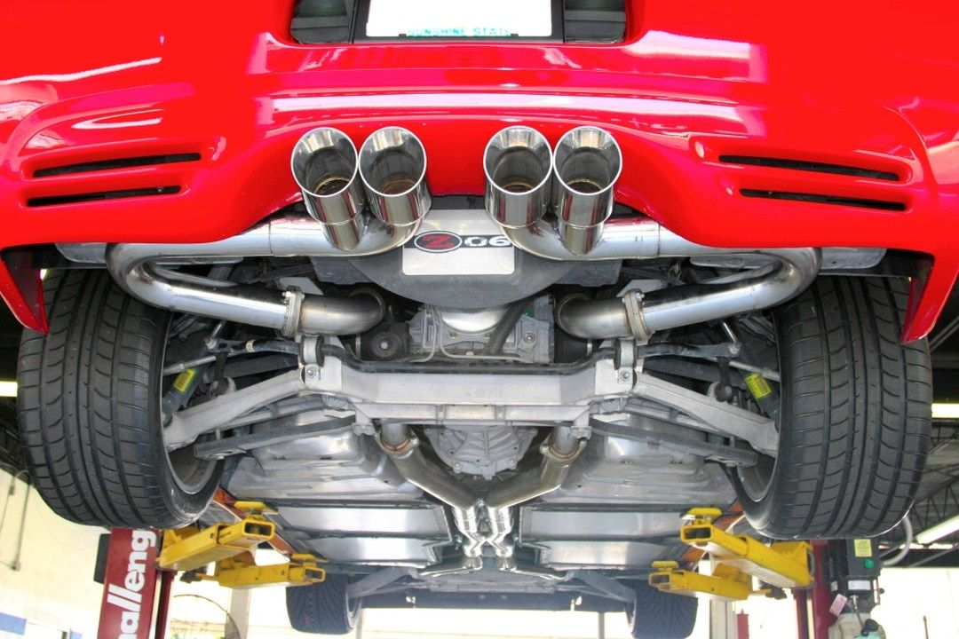 Billy Boat On Instagram C5 Z06 B B Bullet Axle Back Corvette Exhaust Quad Round Tips Billyboat Billyboatperf Corvette Engine Corvette Corvette Stingray