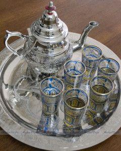 6 Lens Silver Free Teapot Marrakesh Style Minztee Minz Tea Jug