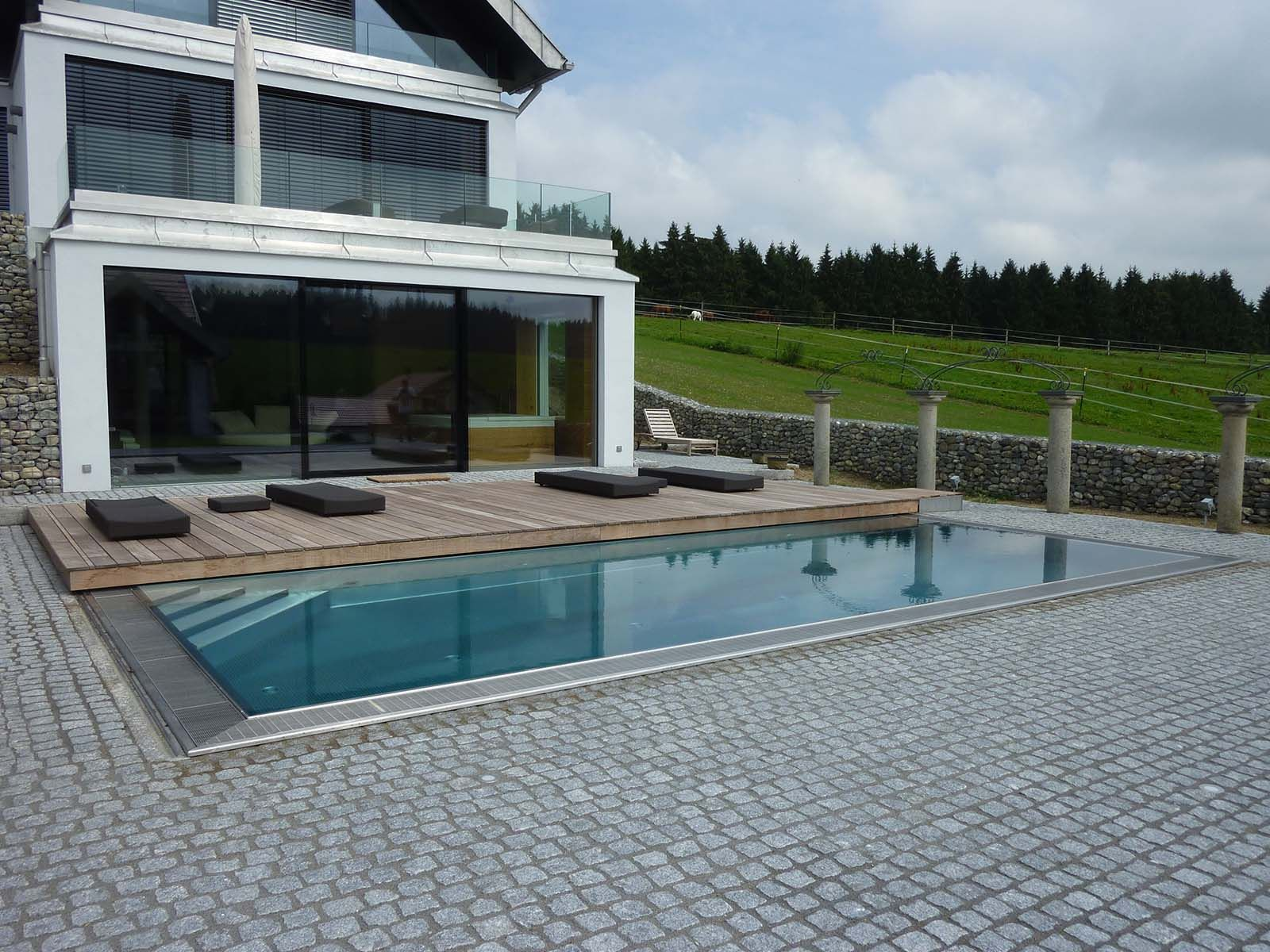 Poolabdeckung Tschechien Pool Solarfolie Winter Blog Referenzen Pool Aus