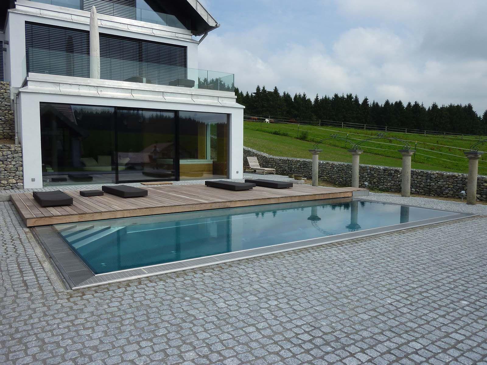begehbare schwimmbadabdeckung pool pinterest. Black Bedroom Furniture Sets. Home Design Ideas