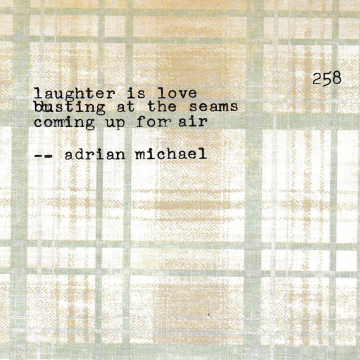 Blinking Cursor Series No. 258 #adrianmichael #typewriter #poetry