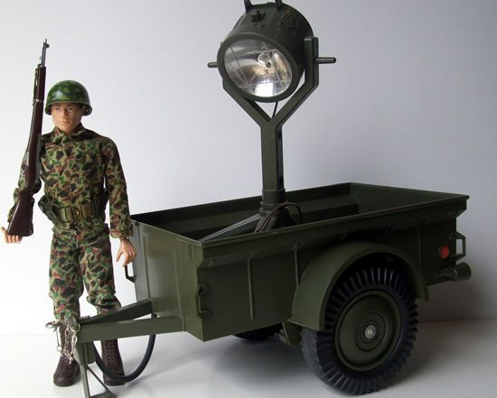 5-Star Jeep Trailer with spot light