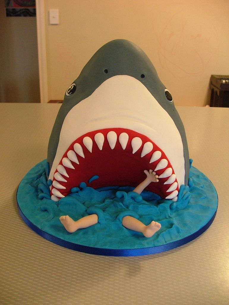 Jaws Pinterest Cake And Cake Designs