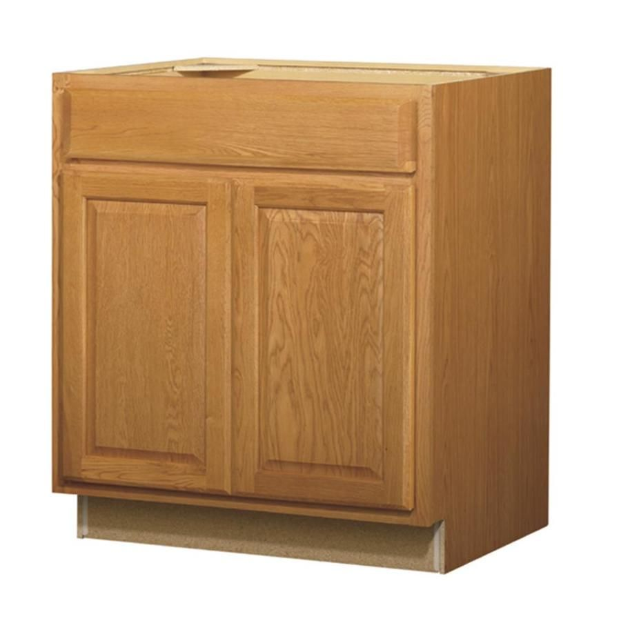 Diamond Now Portland 30 In W X 35 In H X 23 75 In D Wheat Sink Base Stock Cabinet 22 Sb30b In 2020 Base Cabinets Kitchen Base Cabinets Cabinet