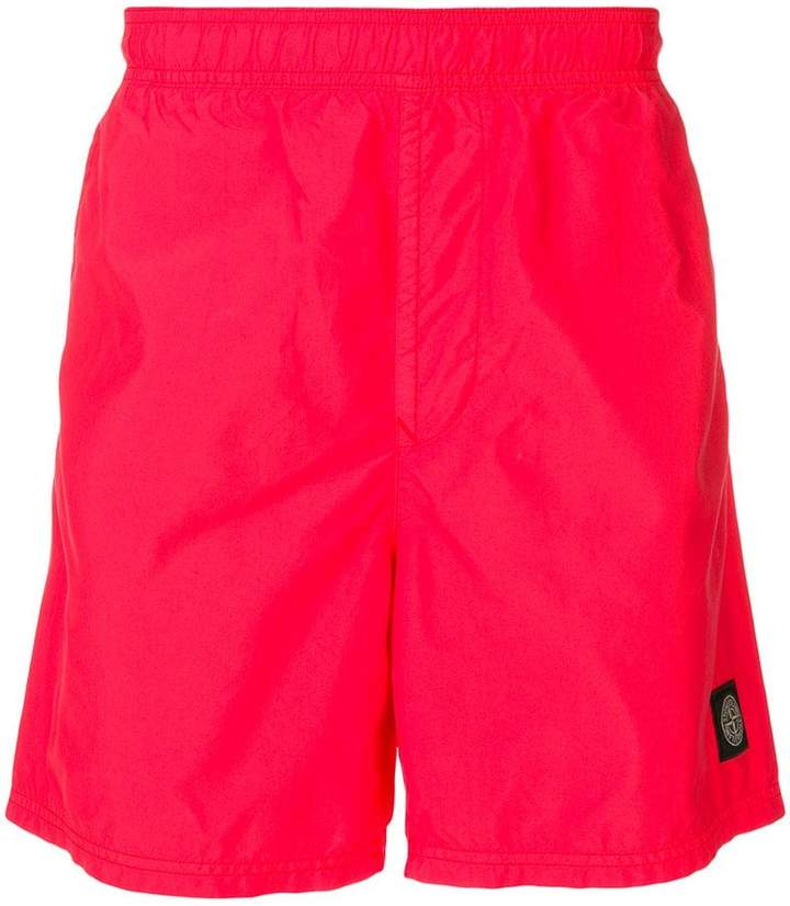 9453ef1f2f Stone Island logo swim trunks in 2019 | Products | Stone island ...