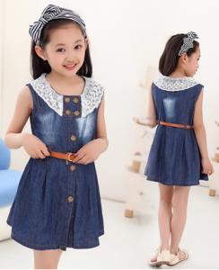 Baju Anak Perempuan Terbaru Dengan Aksen Renda Kids Sp Su Lookbook