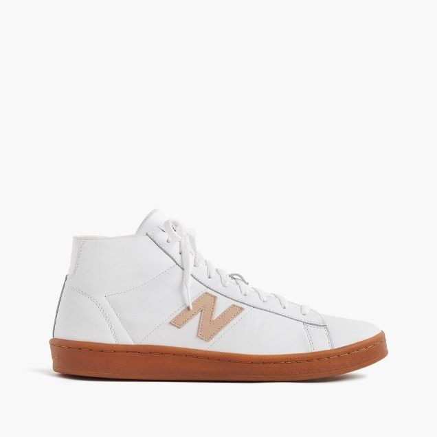timeless design 43576 01ce4 new balance® for j.crew 891 leather high-top sneakers in ...
