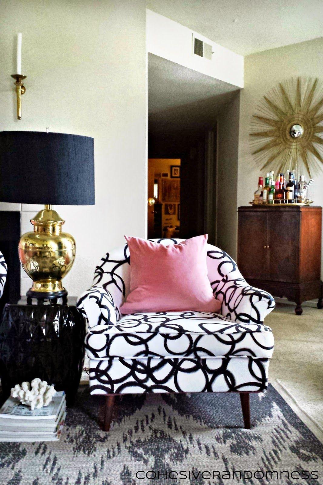 cohesiverandomness living room diy painted fabric painted chairs rh pinterest com