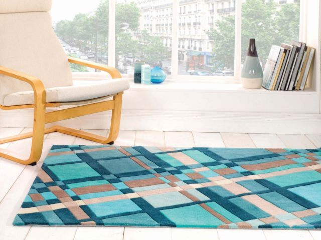 SMALL - EXTRA LARGE THICK FUNKY SOFT VIBRANT MODERN COLOURFUL RUGS | eBay