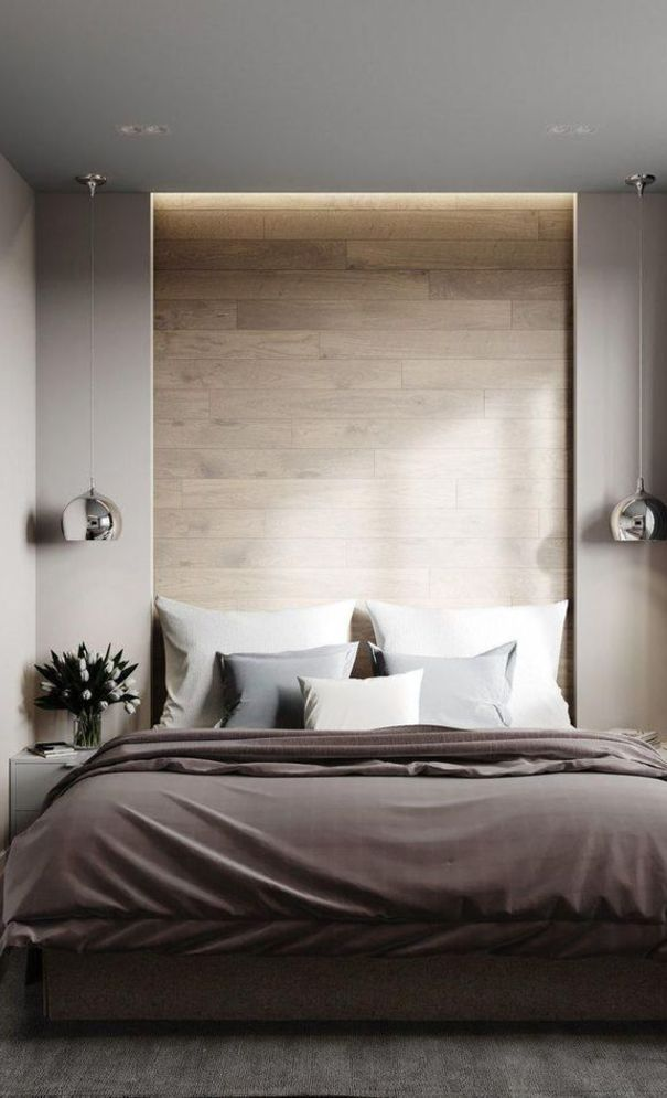 59+ New Trend Modern Bedroom Design Ideas For 2020 Part 29