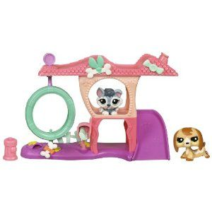 Littlest Pet Shop Playful Puppy house by Hasbro. 22.99
