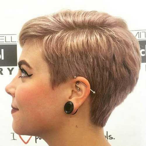 Pixie Haarschnitte für Rotbraun