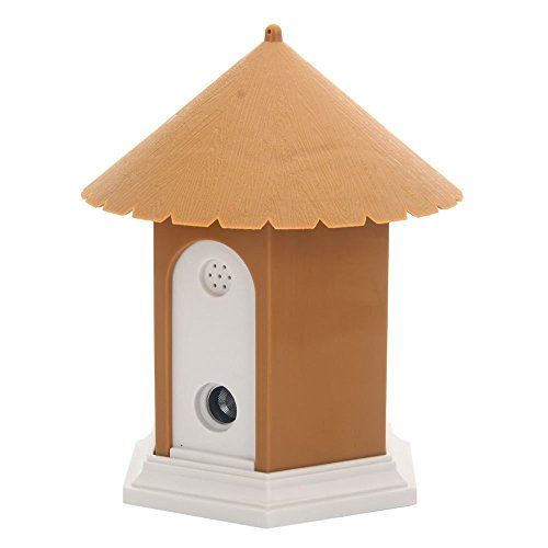 Super Ultrasonic Outdoor Bark Control Birdhouse Ultrasonic Training Dog Stop Barking Yellow Stops A Dog From Barking By Em Dog Training Led Color Ultrasonic