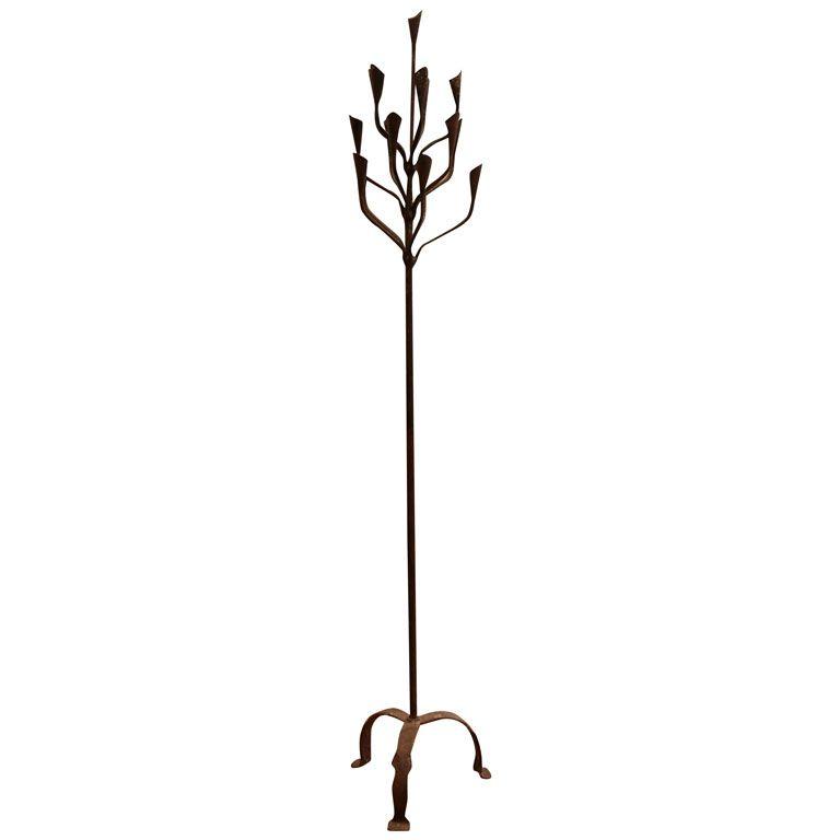 Iron candle floor lamp floor lamp tree floor lamp and iron iron candle floor lamp mozeypictures Choice Image