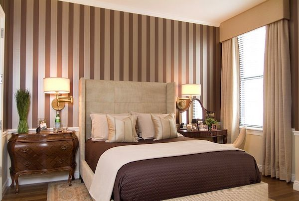 Pin by Sheila Damico on Striped Walls Pinterest Bedroom, Bedroom