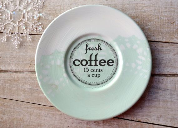 Coffee Sign // Coffee Lover // Farmhouse Kitchen // by SweetMeas, $24.00