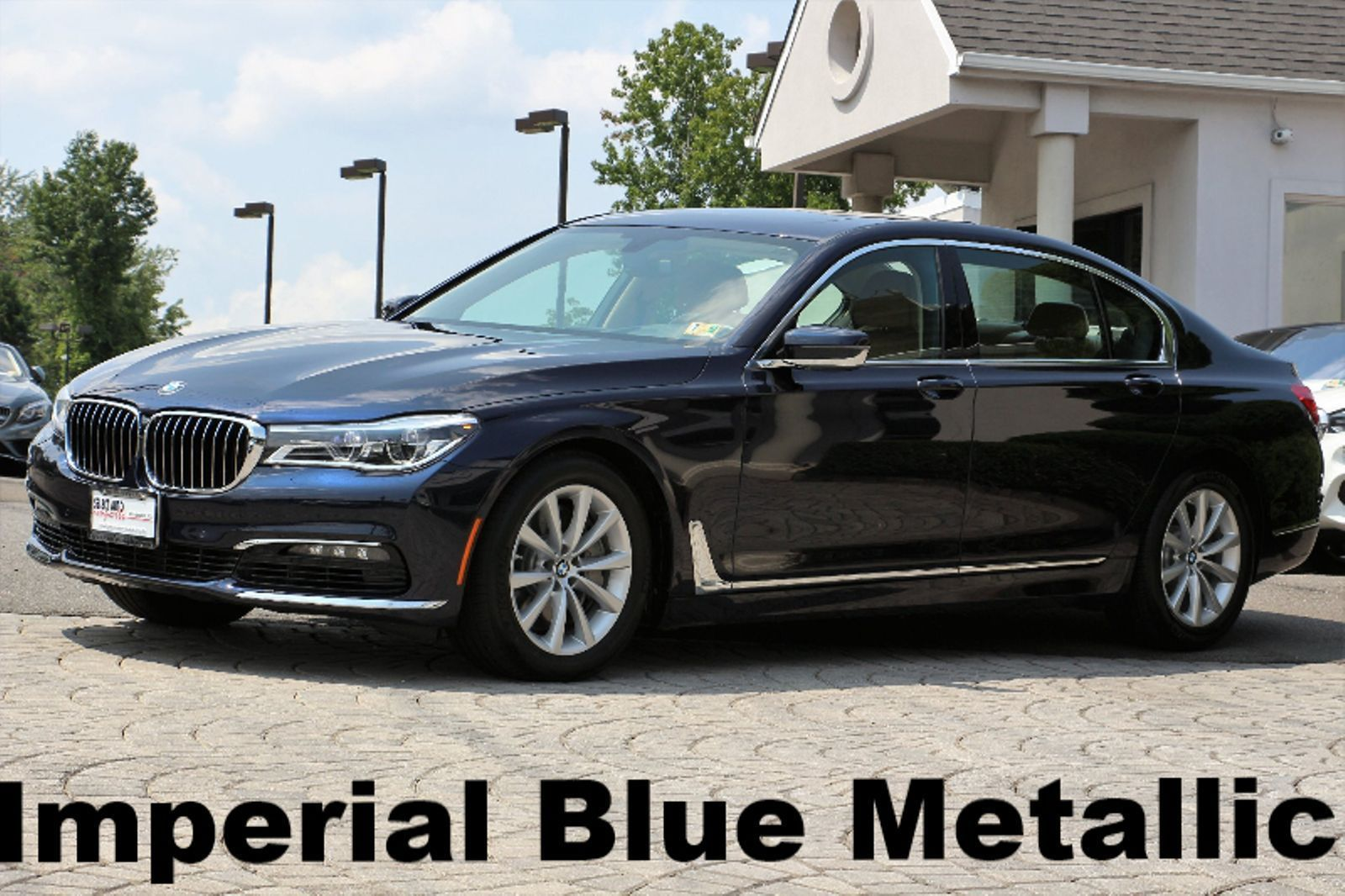 Bmw 7 Series 750i Xdrive 2016 Imperial Blue Metallic On Zagora