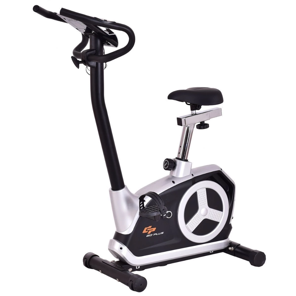 Goplus Magnetic Resistance Bike With Phone Holder Sp35658 With