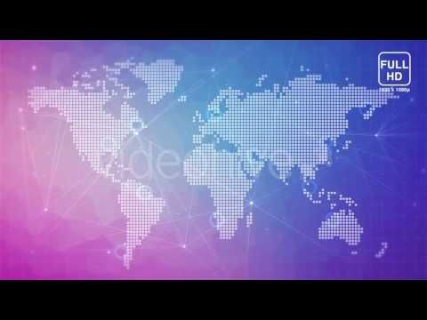 Digital world map motion graphics element from videohive youtube digital world map motion graphics element from videohive youtube gumiabroncs Images
