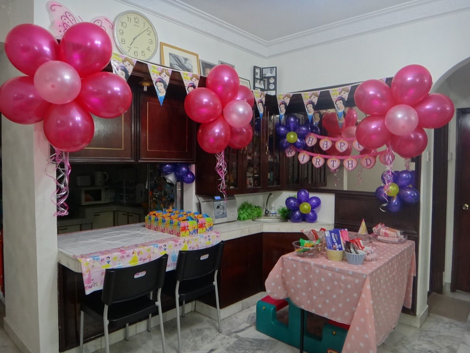 easy second birthday party decorations DIY Birthday Decoration