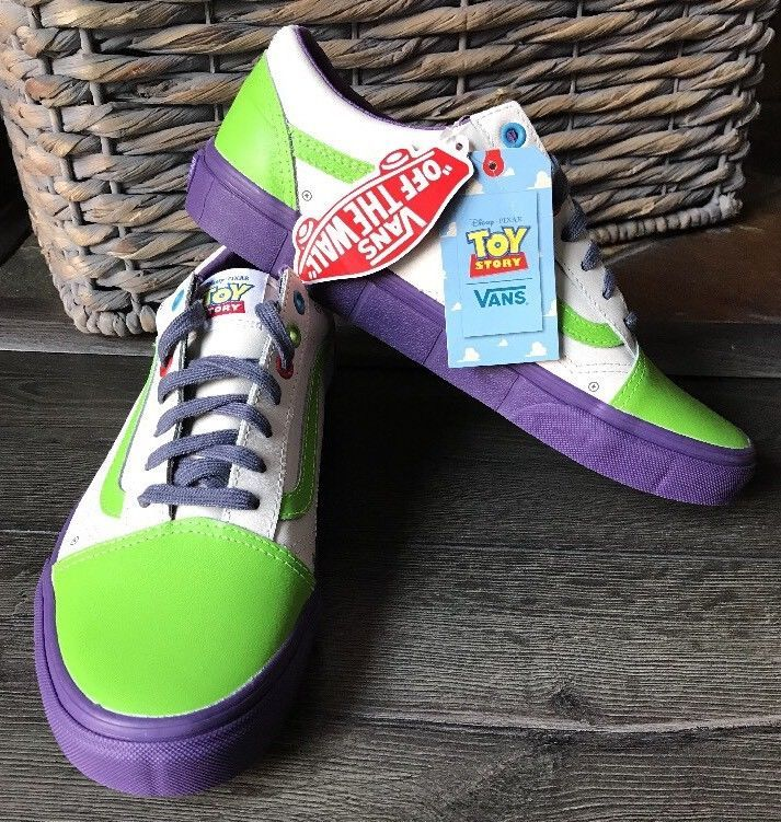 5951e0fa0c Vans Limited Edition Pixar Toy Story Buzz Lightyear Unisex Shoes Old Skool  Skate