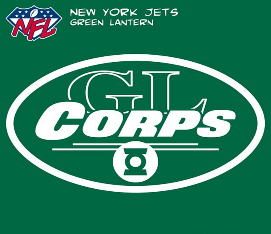 New York Jetsgreen Lantern Nfl New York Jets Pinterest