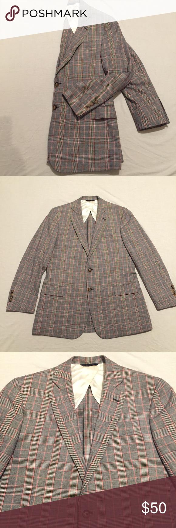 Brooks Brothers • Houndstooth Blazer Sport Coat Gently