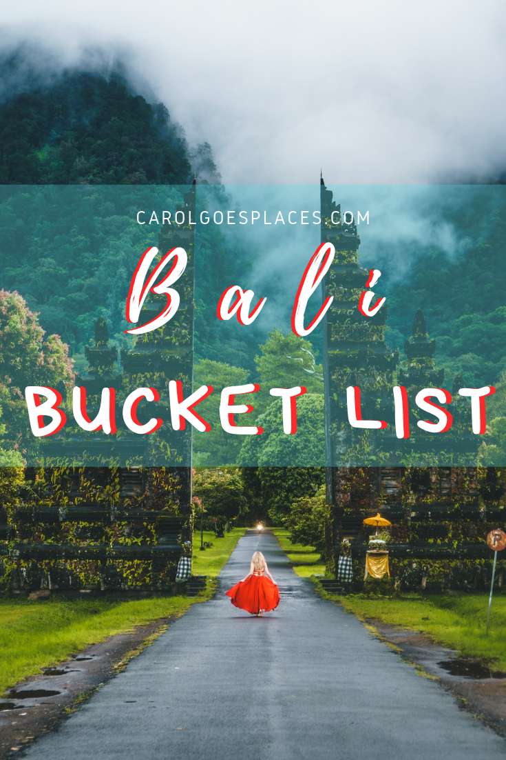 Bali Bucket List: what we are excited to see (and do | Bali bucket list, Bali, Bali travel