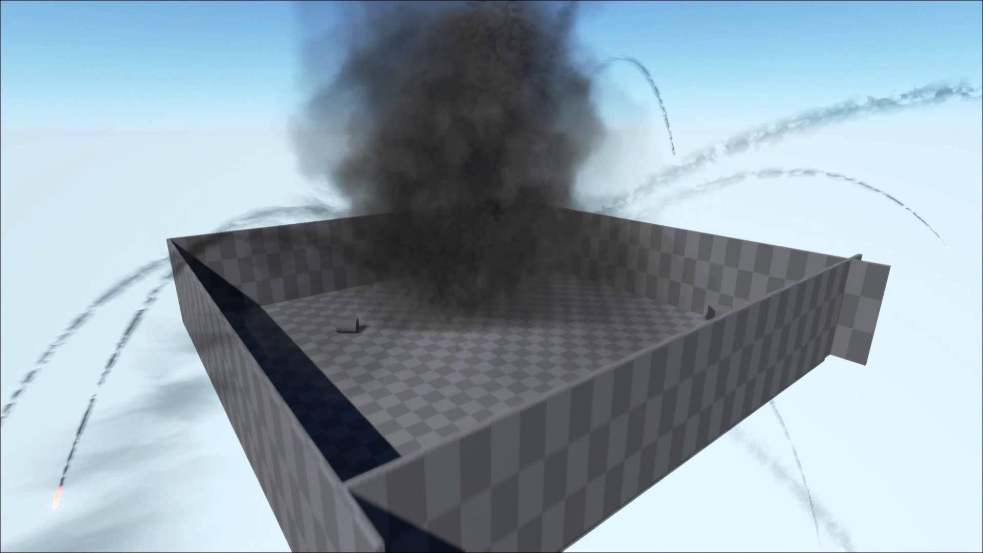 Unreal Engine 4 Huge Fluid Explosion Unreal Engine