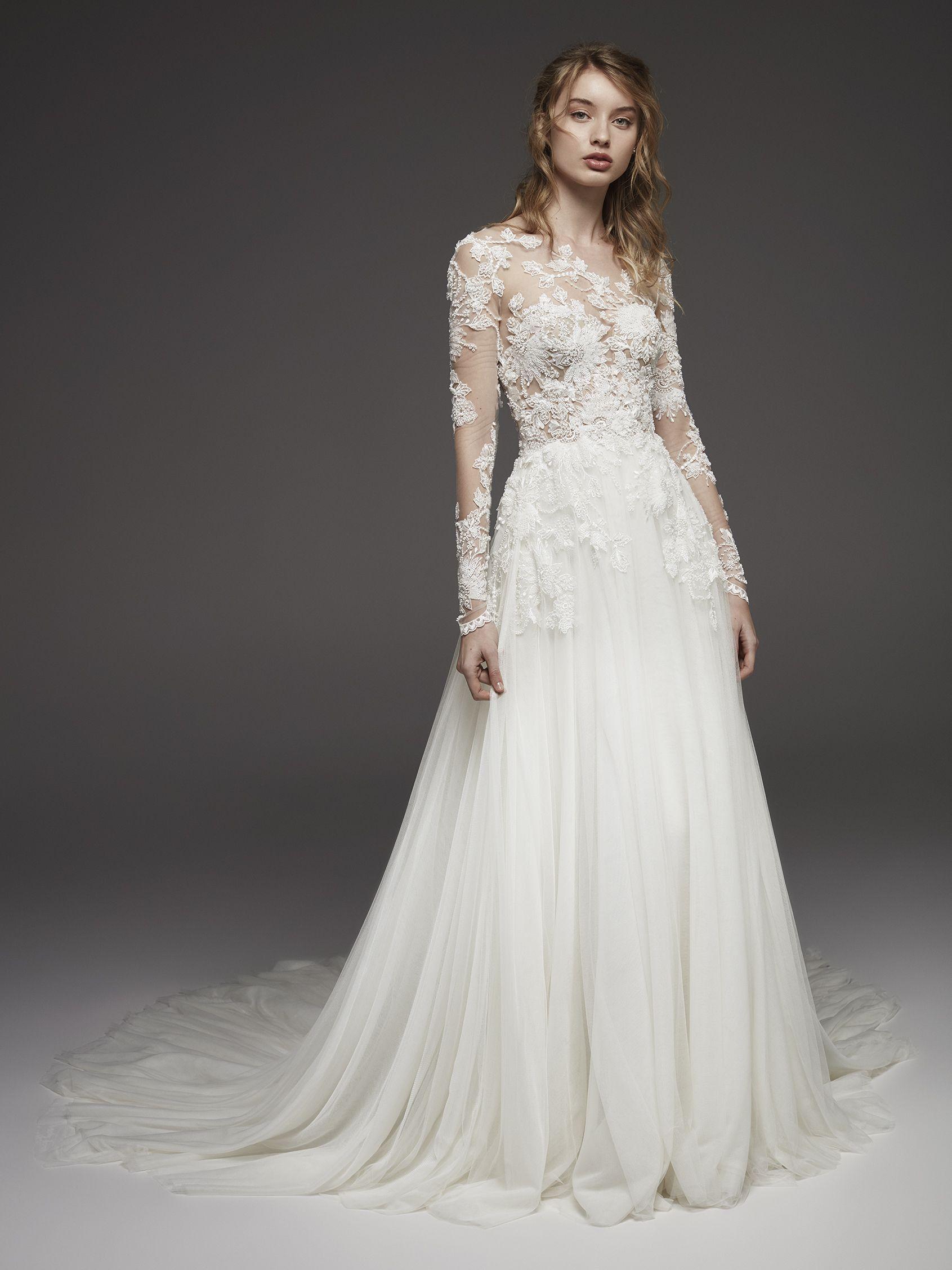 Vestidos de novia romanticos pronovias