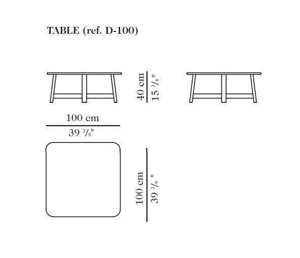 TABLE ref. C-100