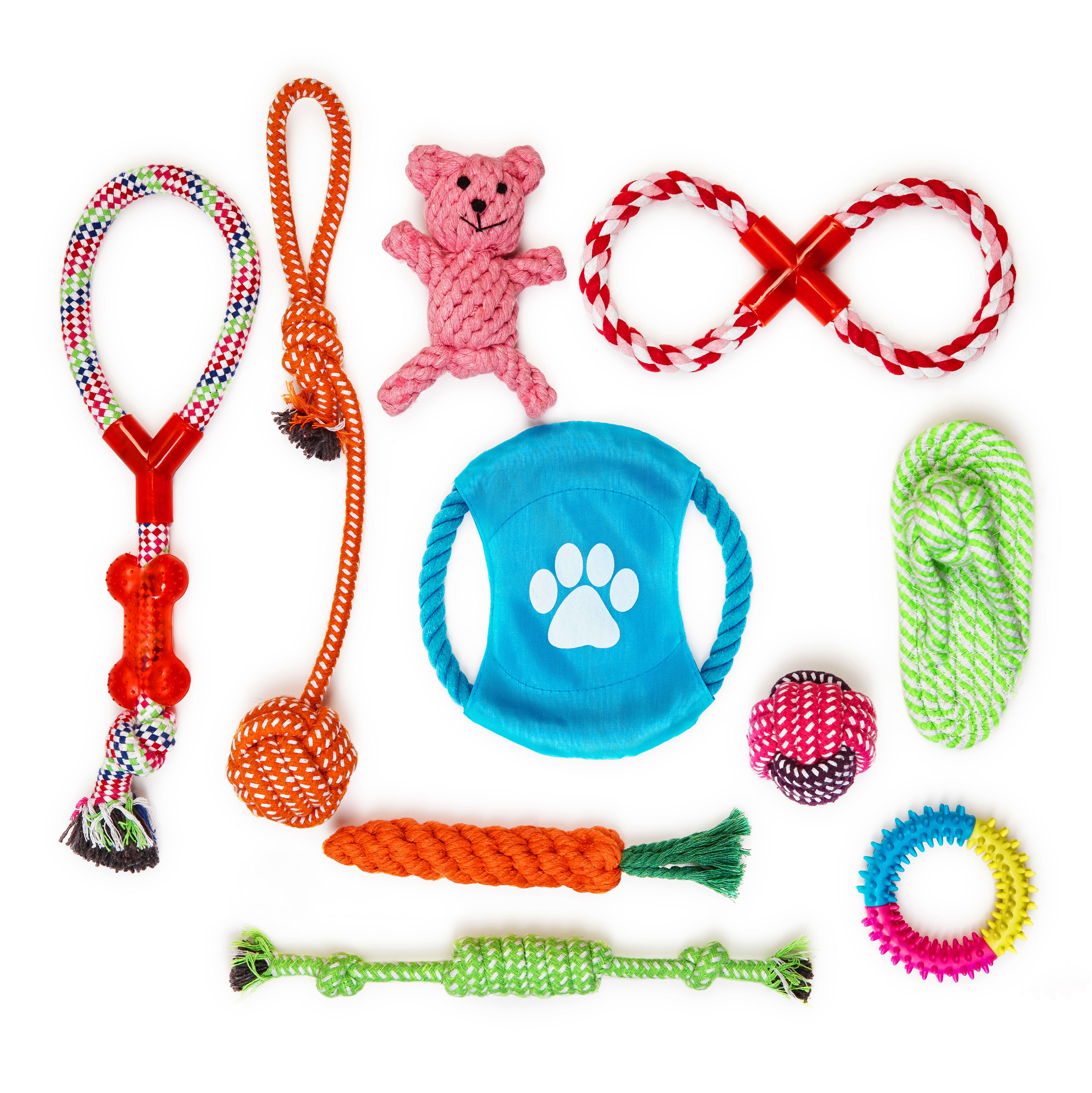 Multiple Choice Dog Toys By Fonpoo Durable Dog Chew Toys For