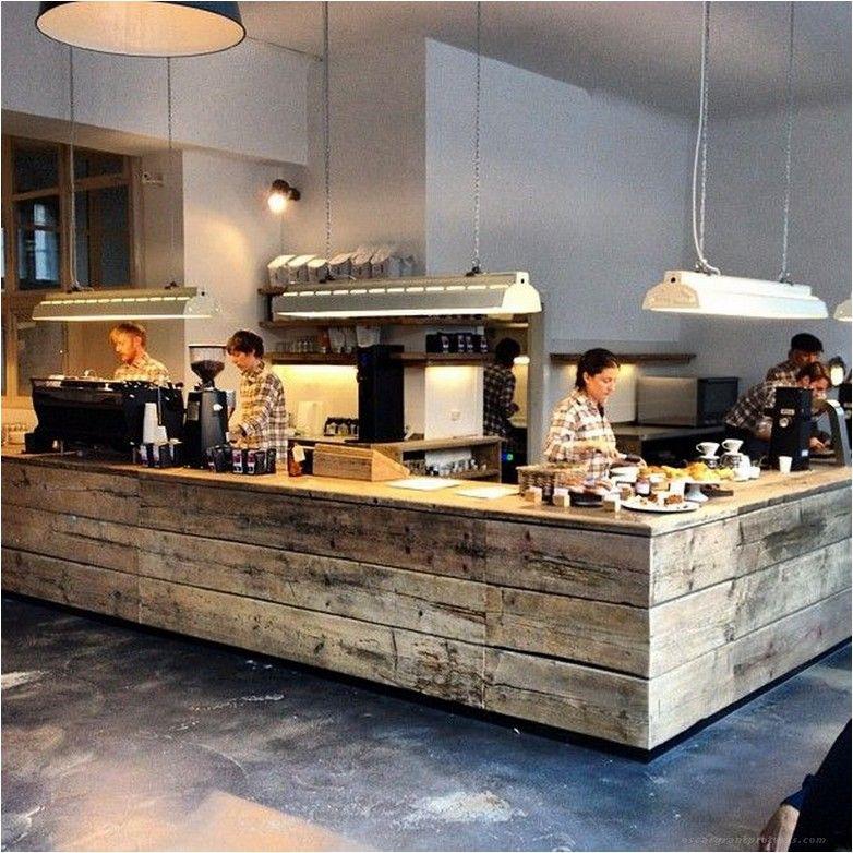 55 Awesome Small Coffee Shop Interior Design 16