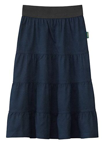 86771e480a Baby'O Clothing Co. Baby'O Girl's Lightweight 4 Tiered Cotton Twill ...