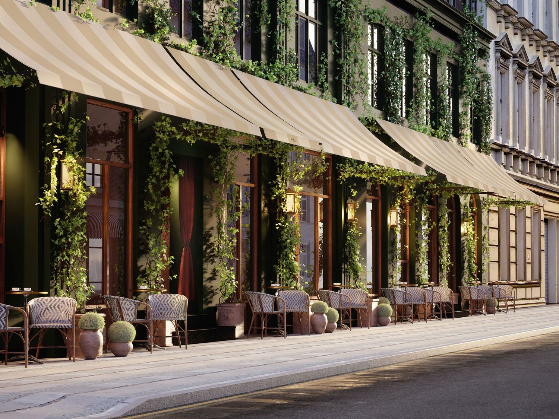 Sanders Boutique Hotel In Copenhagen By Lind Almond Yellowtrace Copenhagen Hotel Copenhagen Design Boutique Interior Design