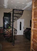 Decorative Spiral Staircase by Appalachian Ironworks of Virginia   This one's mine!